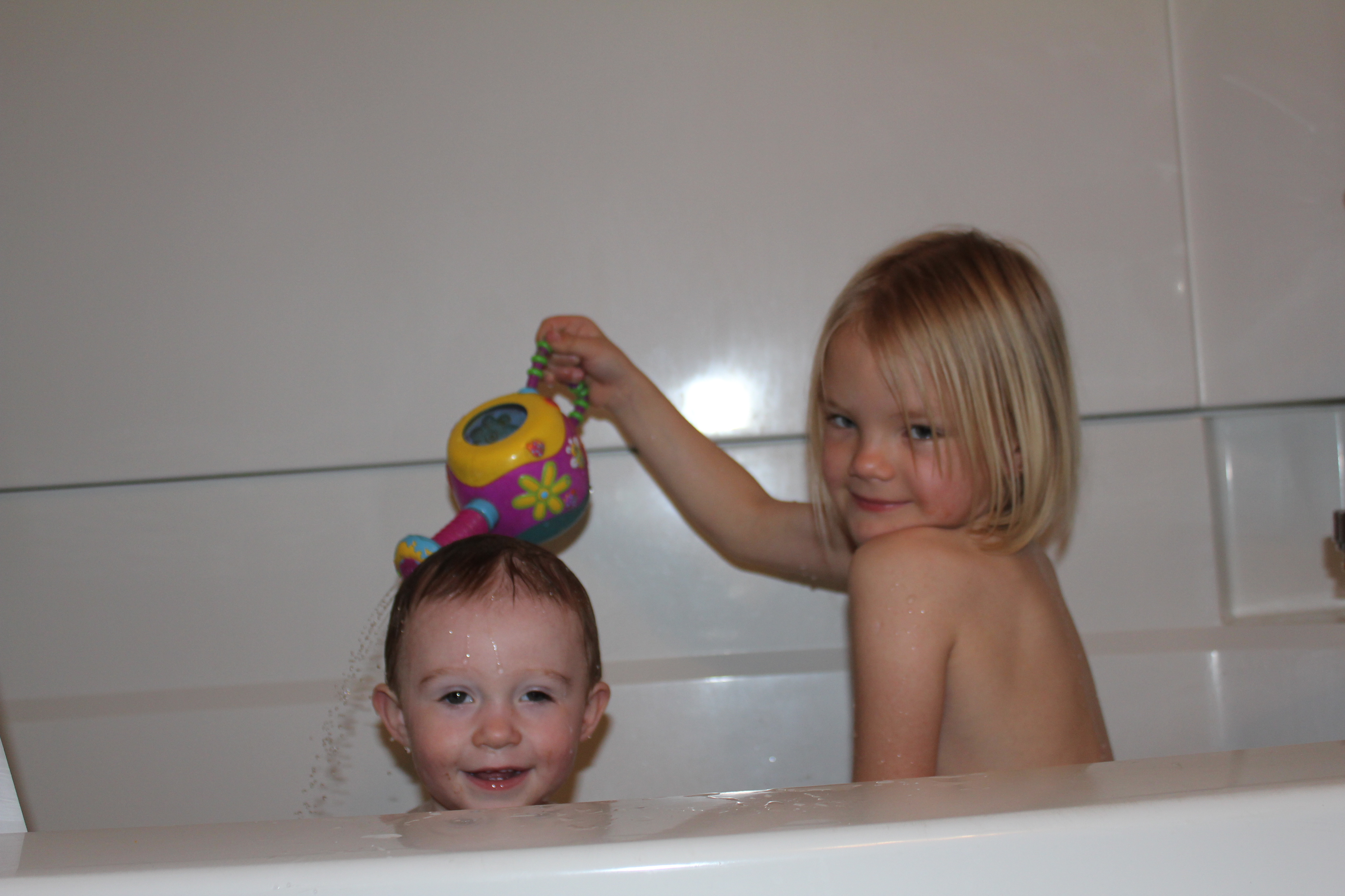 bathtime fun