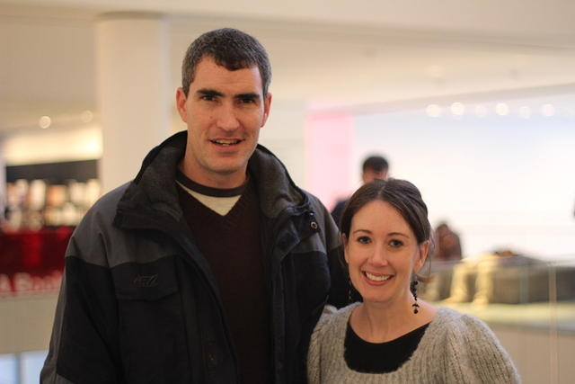 Nicole and Scott at MOMA