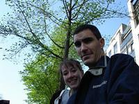Scott and Nicole in Holland